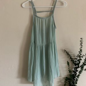 Teal Tunic Tank Top Size SP Gently Used